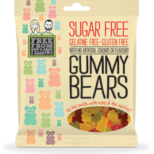 Free From Fellows Gummy Bears 100g x 10