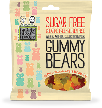 Free From Fellows Gummy Bears 100g x 10