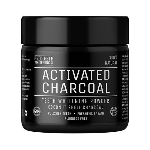 Geo Organics Activated Charcoal Whitening Powder 60ml
