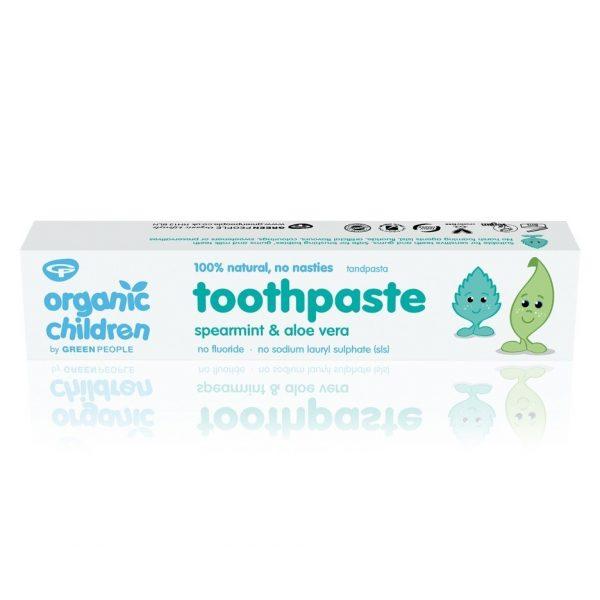Green People Organic Children Aloe Vera & Spearmint Toothpaste 50ml