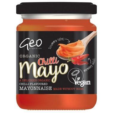 Geo Organics Vegan Chilli Mayo 232g