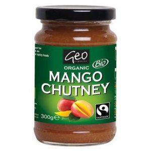 Geo Organics Organic Mango Chutney Fairtrade 300g