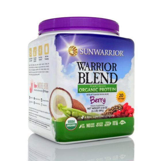 Sunwarrior Warrior Blend - Organic Berry