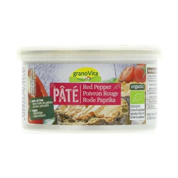 Granovita Organic Red Pepper Pate