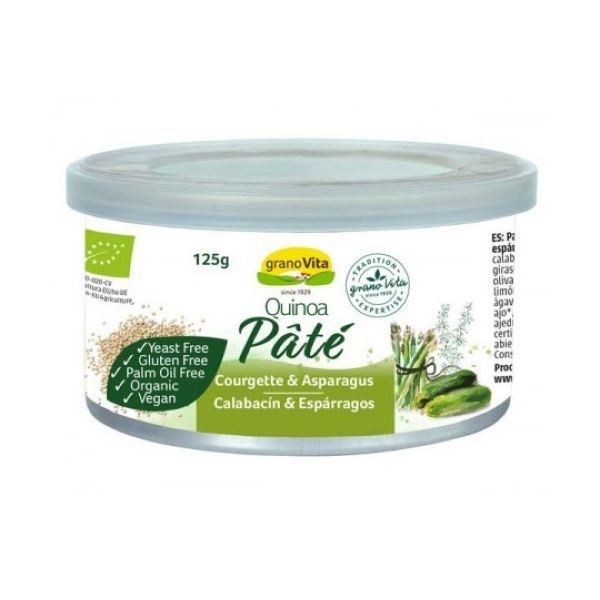 Granovita Organic Quinoa Courgette & Asparagus Pate