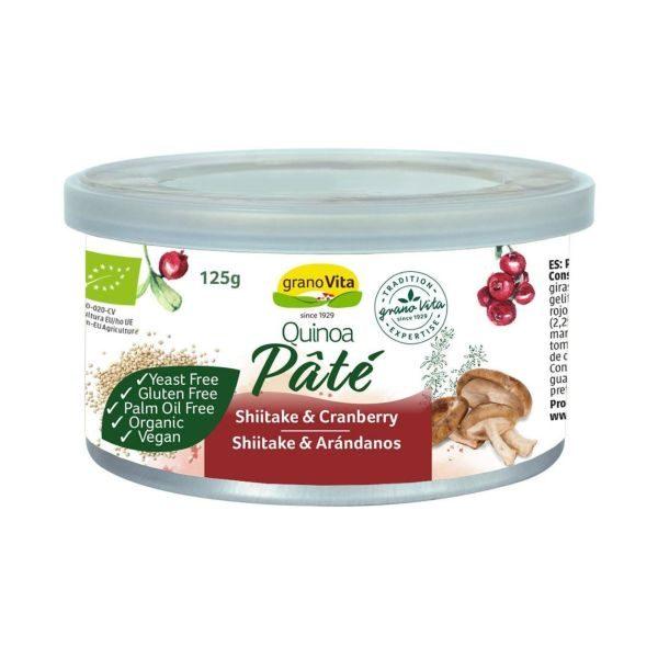 Granovita Organic Quinoa Shiitake & Cranberry Pate