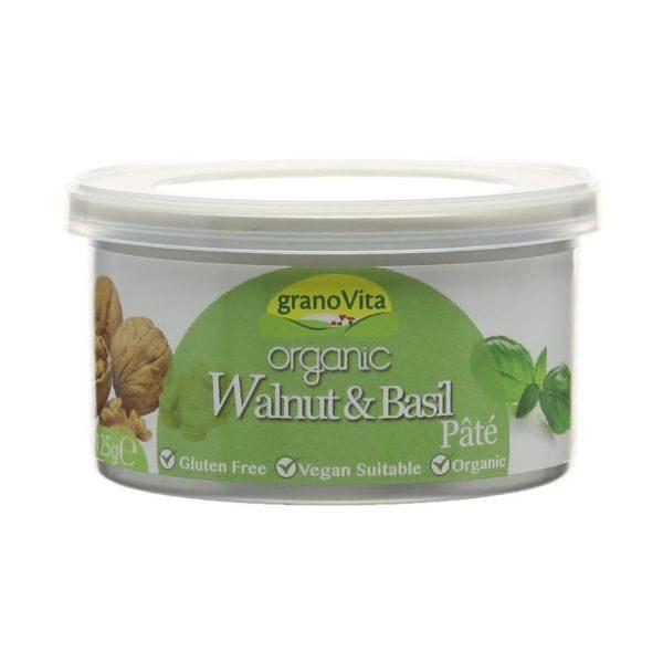Granovita Organic Walnut & Basil Pate