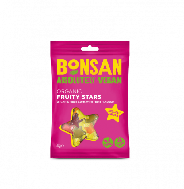 Bonsan Organic Fruity Stars