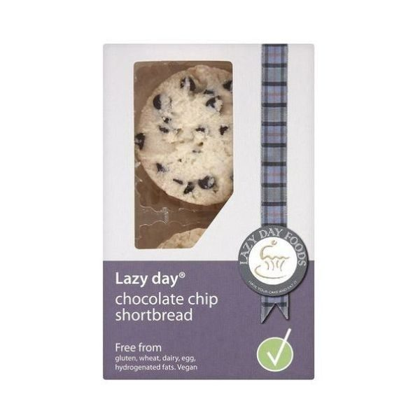 Lazy Day Chocolate Chip Shortbread 150g