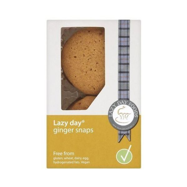 Lazy Day Ginger Snaps 100g