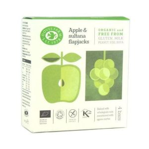 Doves Farm Organic Free From Apple & Sultana Flapjack 35g