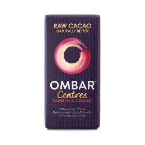 Ombar Organic Raspberry & Coconut Centre 35g