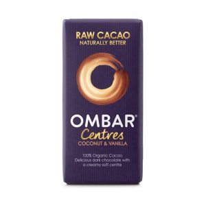 Ombar Organic Coconut & Vanilla Centre 35g