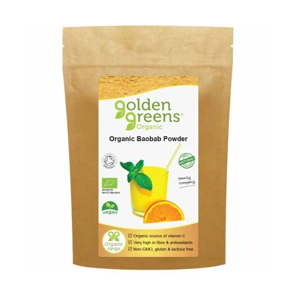 Greens Organic Organic Baobab Powder 100g