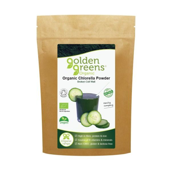 Greens Organic Organic Chlorella Powder 100g