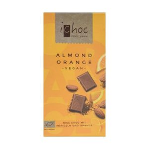 iChoc  Almond Orange Rice Chocolate 80g