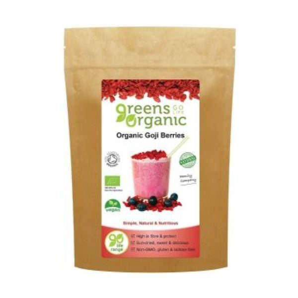 Greens Organic Organic Goji Berries 100g