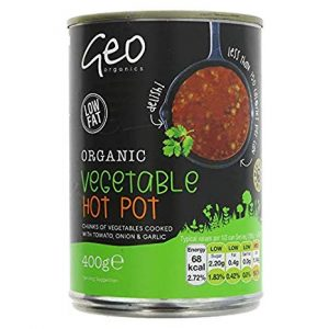 Geo Organics Organic Thick Vegetable Hot pot 400g