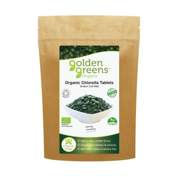 Greens Organic Organic Chlorella Tablets 450tabs