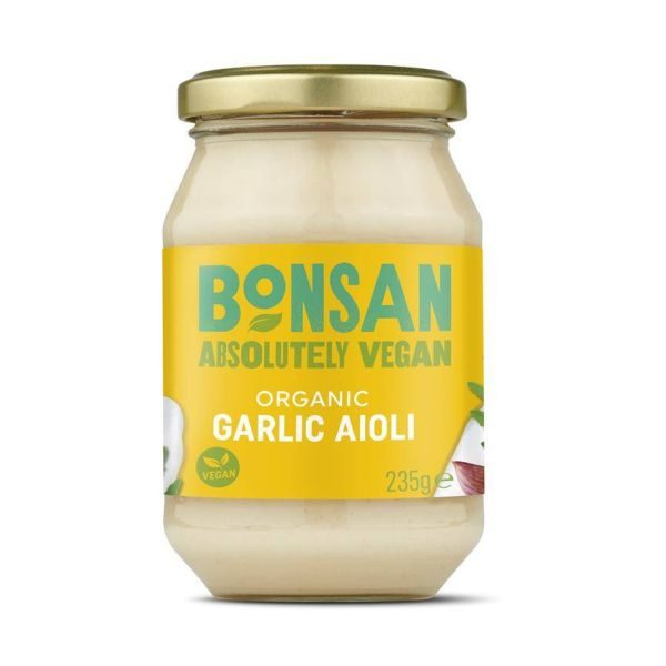Bonsan Organic Garlic Aioli