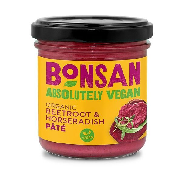 Bonsan Organic Beetroot and Horseradish Pate