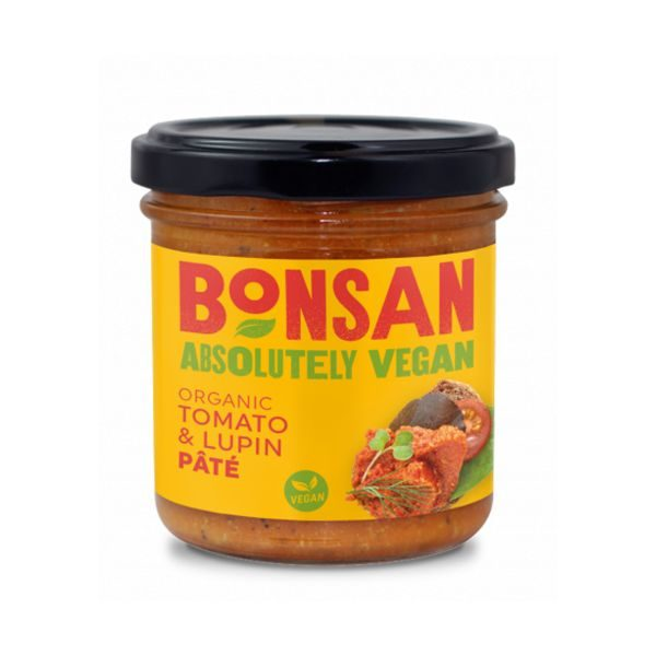 Bonsan Organic Tomato and Lupin Pate