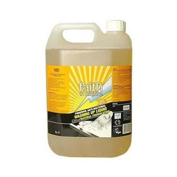 Faith In Nature Antibacterial Washing Up Liquid 5L