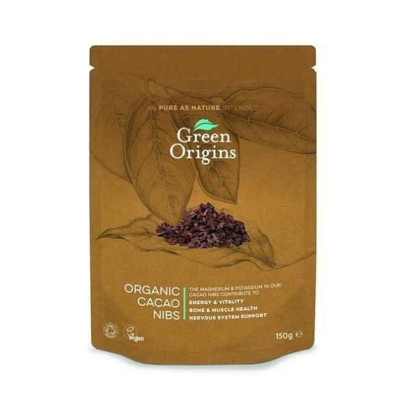 Green Origins Organic Cacao Nibs 150g