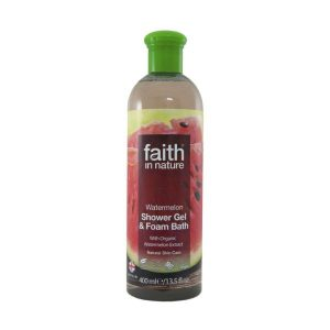 Faith In Nature Watermelon Shower Gel/Foam Bath 400ml