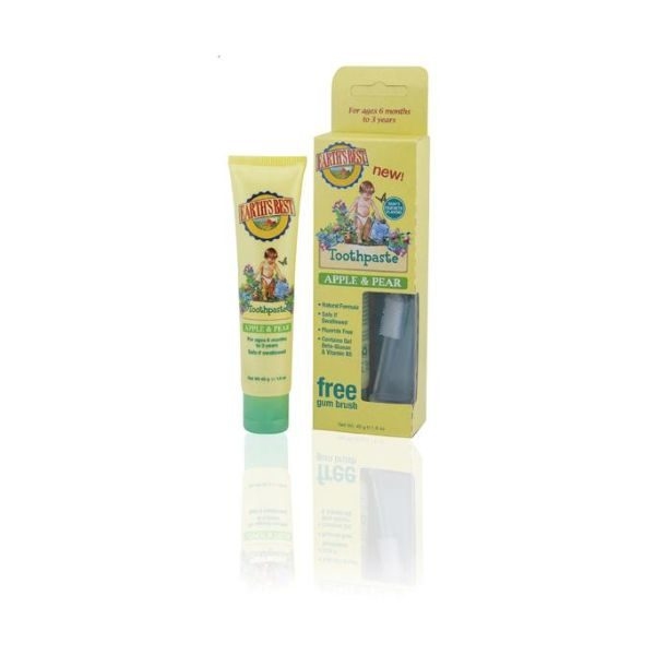 Jason Earth's Best Apple & Pear Toothpaste 45g