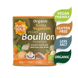 Marigold Organic Reduced Salt Bouillon Powder