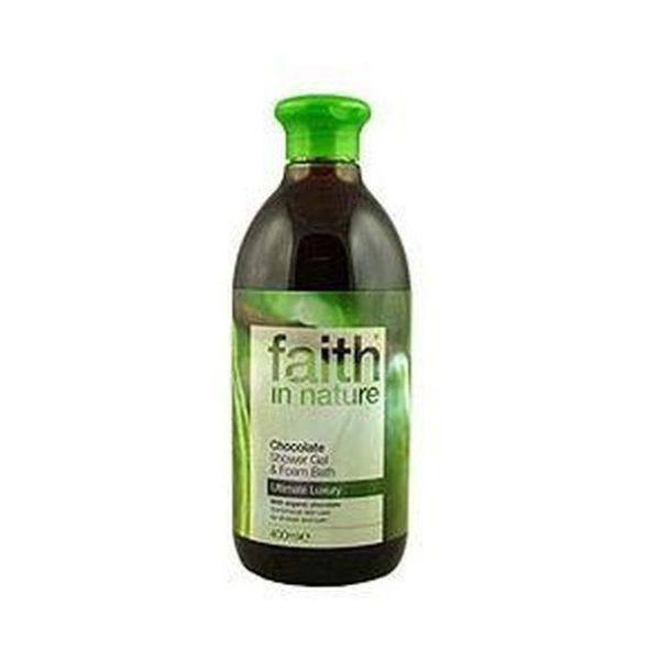 Faith In Nature Chocolate Shower Gel / Foam Bath 400ml