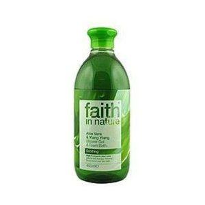 Faith In Nature Aloe Vera & Ylang Ylang Shower Gel / Foam Bath 400ml