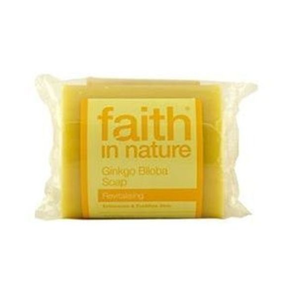 Faith In Nature Pure Vegetable Ginkgo Soap 100g