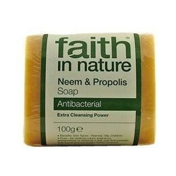 Faith In Nature Pure Vegetable Neem Soap 100g