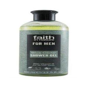 Faith In Nature Blue Cedar Shower Gel 400ml