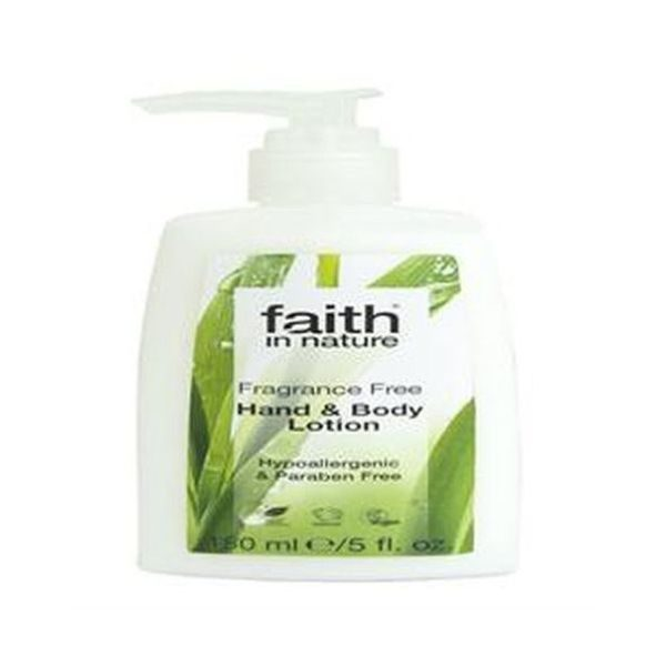 Faith In Nature Fragrance Free Handy & Body Lotion 150ml