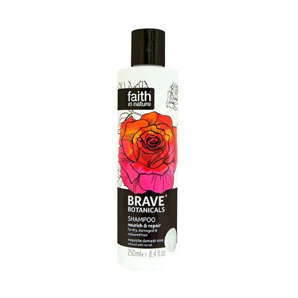 Faith In Nature Nourish & Repair Shampoo Rose & Neroli 250ml