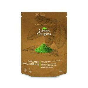 Green Origins Organic Wheatgrass Powder 125g