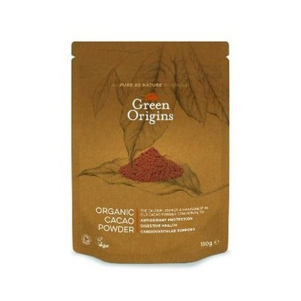 Green Origins Organic Cacao Powder 150g
