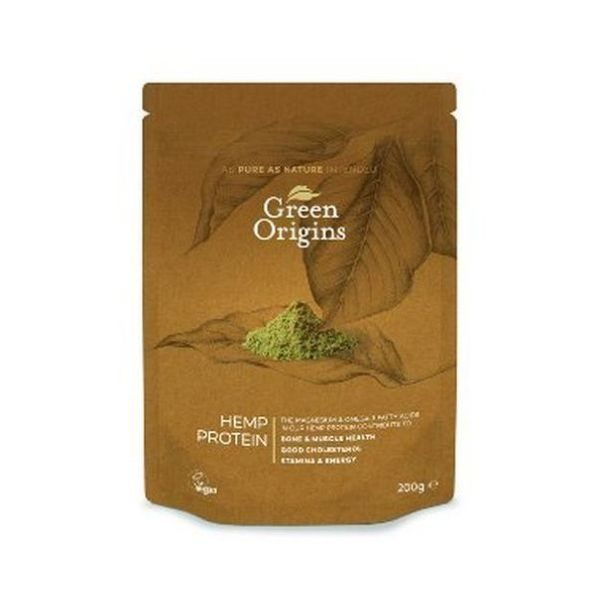 Green Origins Hemp Protein Powder (Raw) 200g