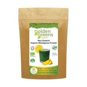 Greens Organic Organic New Zealand Wheatgrass Powder 100g