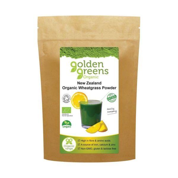 Greens Organic Organic New Zealand Wheatgrass Powder 100g