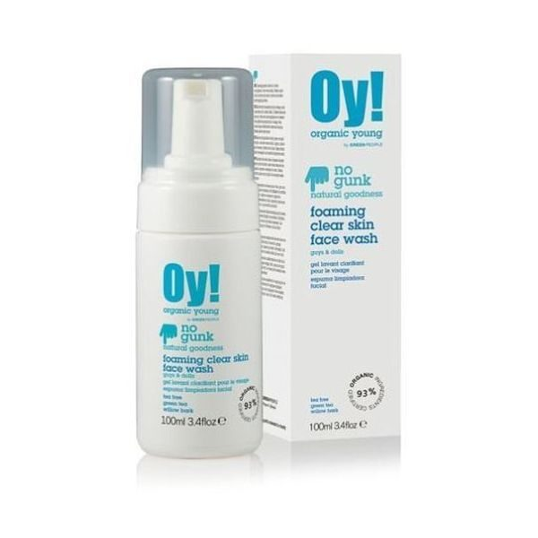 Green People Oy! Foaming Clear Skin Facewash 100ml