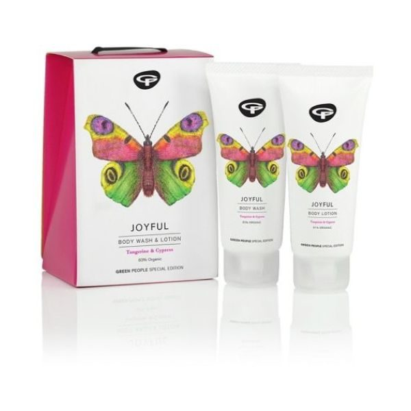 Green People Joyful - Body Wash & Lotion Duo 2x100ml