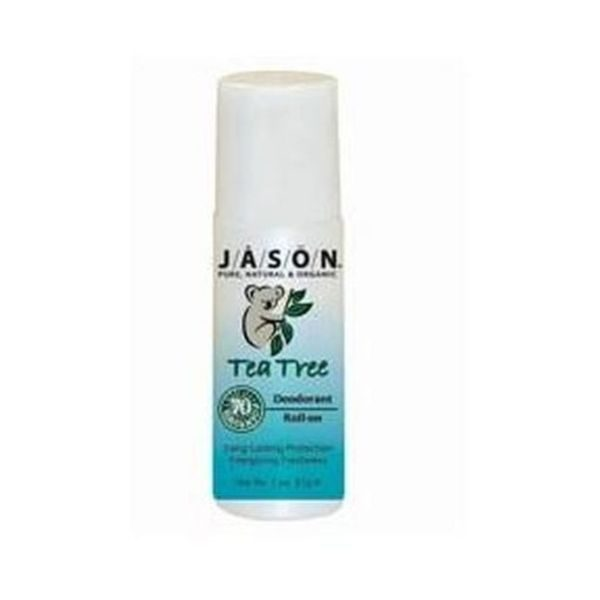 Jason Organic Tea Tree Oil Deodorant Roll On 85g