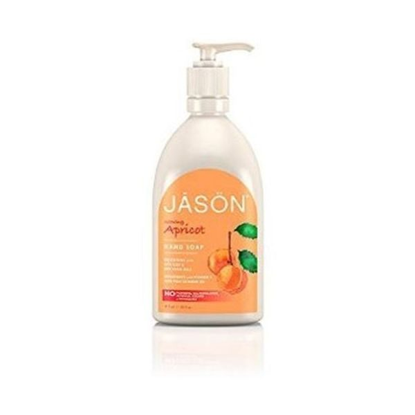 Jason Apricot Liquid Satin Soap with Pump 480ml