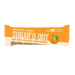 Ma Baker Sugar'D Out No Added Sugar Flapjack - Apricot 50G