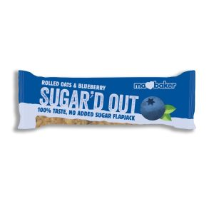 Ma Baker Sugar'D Out No Added Sugar Flapjack - Blueberry 50G