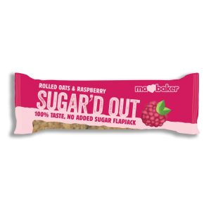 Ma Baker Sugar'D Out No Added Sugar Flapjack - Raspberry 50G